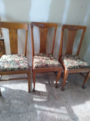 Antique Chairs for Sale in Wichita, KS