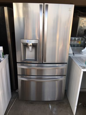2016 model 4 doors stainless steel refrigerator for Sale in Moreno Valley, CA