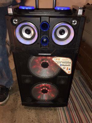 Professional karaoke machine/Bluetooth speaker for Sale in Phoenix, AZ