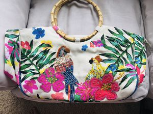 New bamboo tropical purse for Sale in Wenatchee, WA