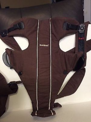 Baby Bjorn carrier brown for Sale in St. Louis, MO