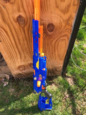 Nerf Gun with clips for Sale in Plainfield, IN