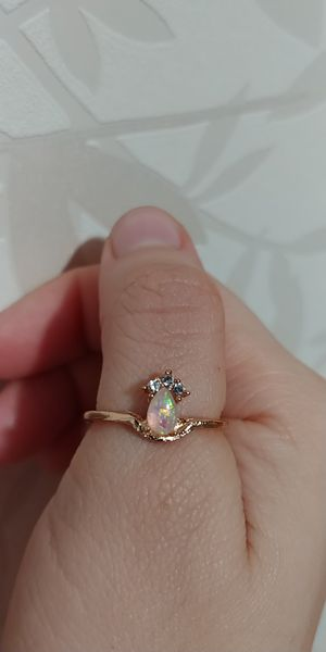 Gold colour ring size 8 for Sale in Victorville, CA
