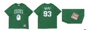 CELTICS Bape & Mitchell and Ness Shirt for Sale in DORCHESTR CTR, MA