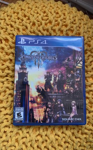Kingdom Hearts 3 PlayStation 4 for Sale in Oak Park, IL