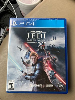Star Wars Jedi fallen order PS4 new in shrink wrap for Sale in DuPont, WA