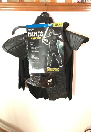 Black Ninja Halloween costume. Boys 10-12 for Sale in Chula Vista, CA