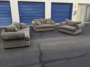 XL 3 Piece Sofa Set Delivery & Financing Available for Sale in Tempe, AZ