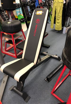 New Utility weight bench 5 positions for Sale in Renton, WA