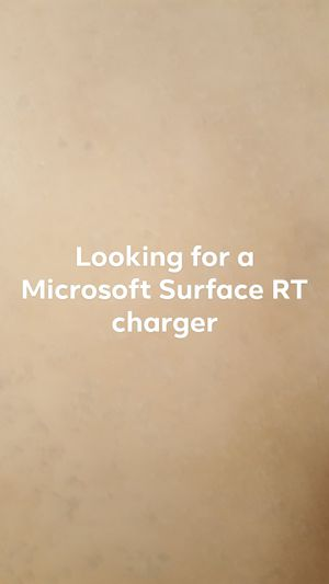 Looking for Microsoft Surface RT tablet charger for Sale in Casa Grande, AZ