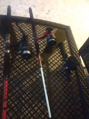Fishing rods and reels for Sale in TWN N CNTRY, FL