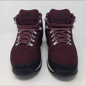 Men's Timberland Burgundy waterproof size 9 wide winter boots for Sale in Phoenix, AZ
