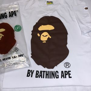 Bape By Bathing White Tee for Sale in Kent, WA
