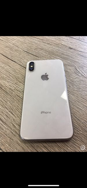 Like New T-Mobile / MetroPCS iPhone X 64GB Silver. for Sale in Portland, OR