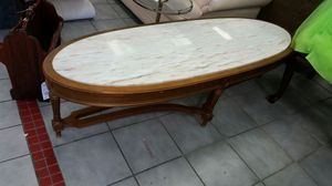 Vintage Marble Top Surfboard Coffee Table for Sale in Baltimore, MD