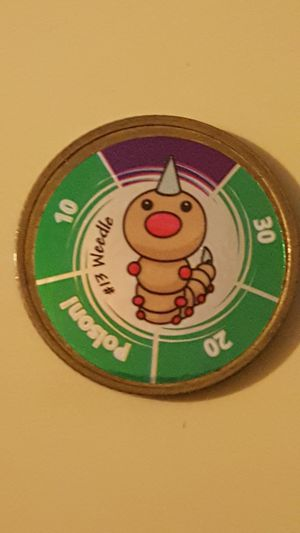 👣 Rare Pokemon Battling Coin #13 Weedle 👣 for Sale in Falls Church, VA