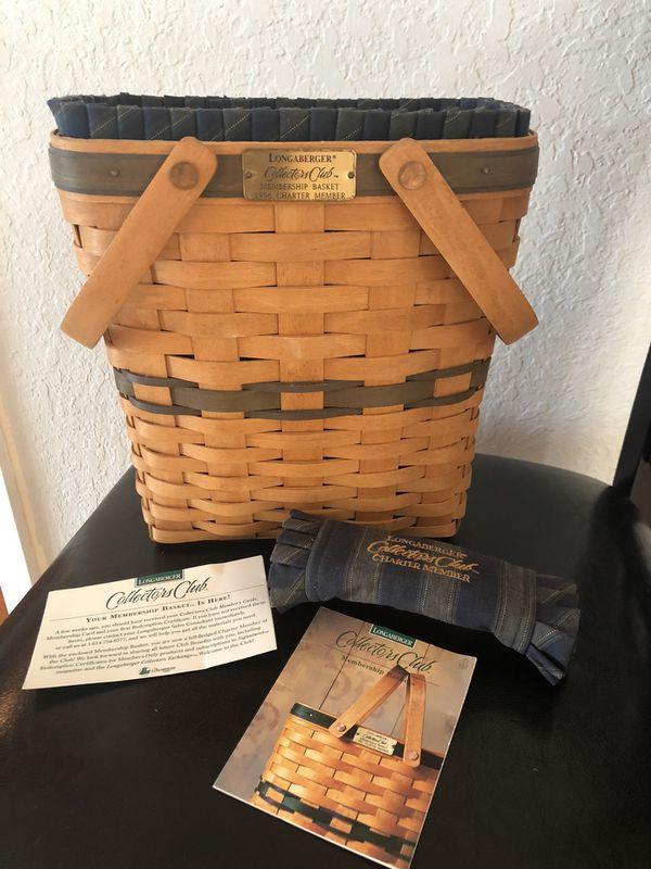 Longaberger 1996 Charter Member basket