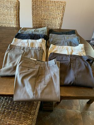 (11) Pre-Used Claiborne Dress Pants / Size 34W x 30L / Excellent Condition for Sale in Hacienda Heights, CA