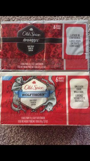 Old spice bar soaps ( brand new 2 packs) for Sale in Willingboro, NJ