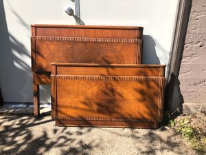Antique Vintage Meier and Frank Twin Head/footboard c.1930's for Sale in Woodland, WA