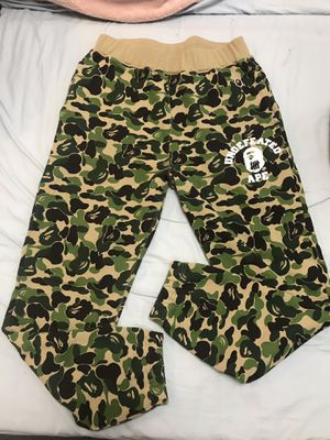 Bape x undefeated joggers size small for Sale in Philadelphia, PA