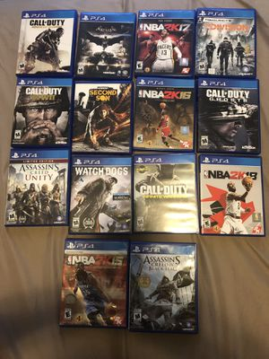 Ps4 games for Sale in Lake Stevens, WA
