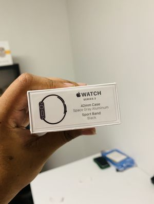 Apple Watch series 3 42mm GPS only for Sale in Dallas, TX