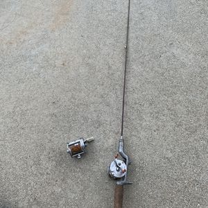Vintage fishing rod and reel for Sale in Moreno Valley, CA