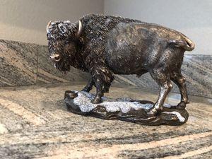 Brown buffalo statue for Sale in Vancouver, WA