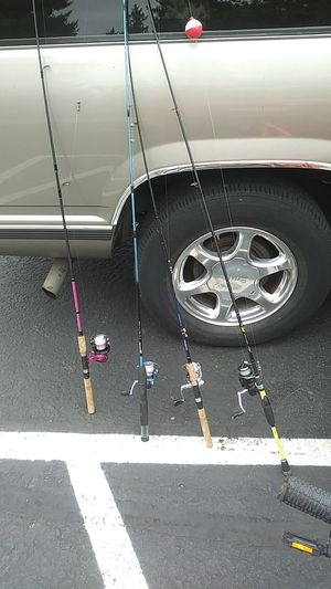 Fishing poles four of them for $80 for Sale in Portland, OR
