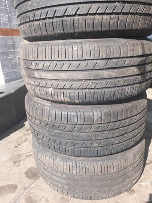 A set of Tires size 215 55 16 mark MICHELIN for Sale in Takoma Park, MD