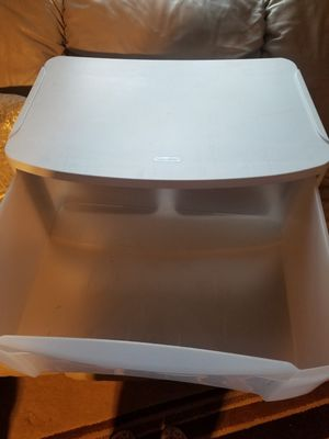 White plastic drawer for Sale in Vancouver, WA