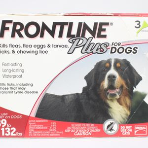 Frontline Plus For Dogs 89-132 lbs for Sale in Lancaster, OH