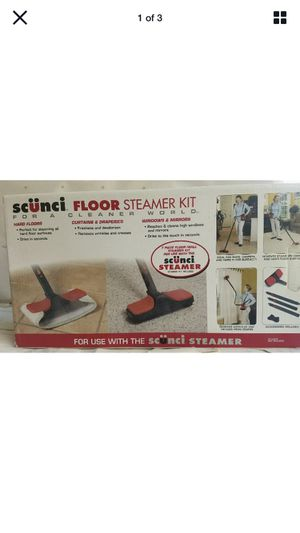 SCUNCI FLOOR AND WALL STEAMER CLEANING ACCESSORY KIT MODEL 52068 for Sale in Phoenix, AZ