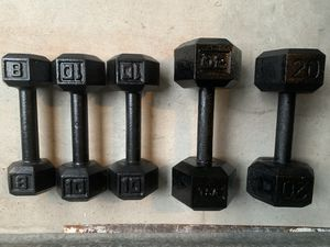 Dumbbell weight 68 lbs for Sale in North Lauderdale, FL