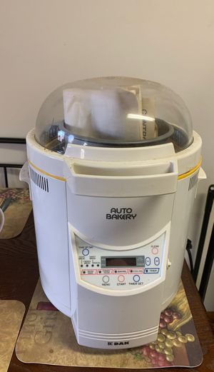 Dak bread machine for Sale in Searcy, AR