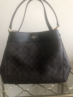 Coach Signature Monogram Hobo Bag for Sale in Silver Spring, MD