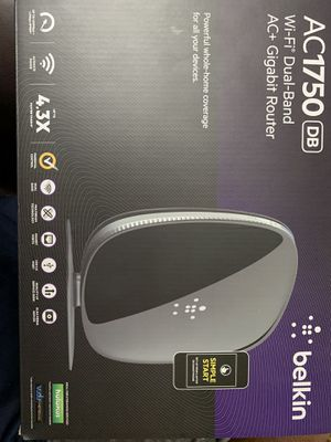 Belkin AC 1750 Router for Sale in Fort Worth, TX