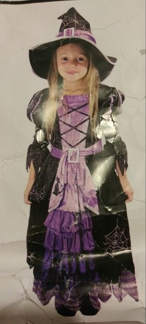 Witch Costume children's... Size XS... Toddler for Sale in Los Angeles, CA