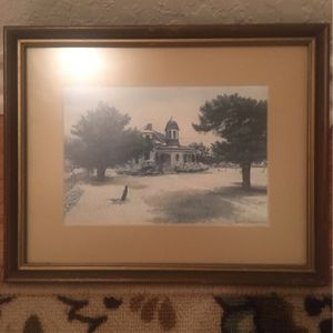 "Signed ""White Christmas "" By Ronald Thomason for Sale in Mansfield, TX"
