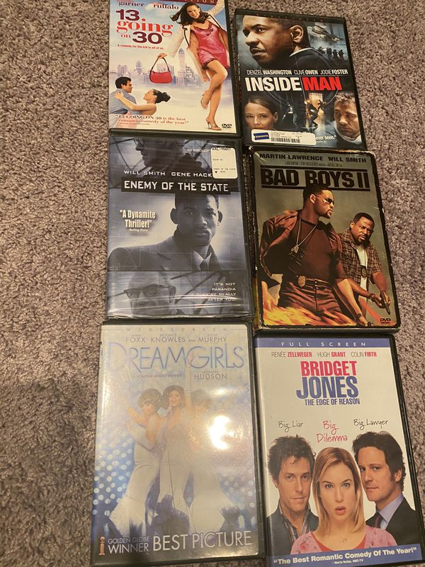 DVDs 2 for $6 or $4 each