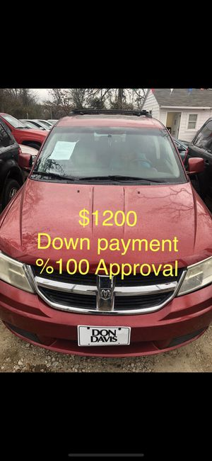 2009 Dodge Journey %100 Approval for Sale in Dallas, TX
