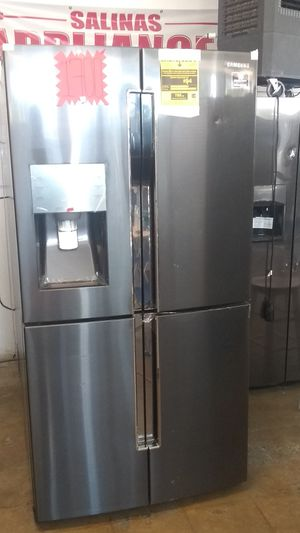 NEW. NUEVO REFRIGERADOR SAMSUNG BLACK STAINLESS 4 FLEX DOOR TRIPLE COOLING. for Sale in Grand Prairie, TX