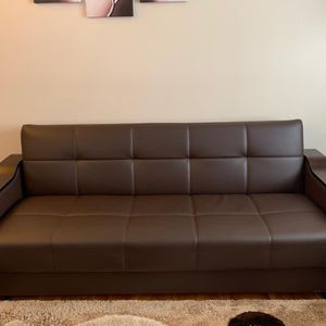 2 Piece Leather Sofa for Sale in St. Louis, MO