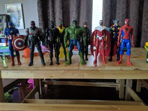 Avengers Action Figures - 9 for Sale in Damascus, OR