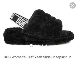 Ugg fur slippers for Sale in Austin, TX