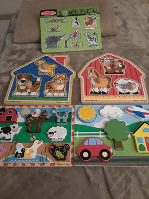 MELISSA AND DOUG PUZZLES for Sale in Miami, FL