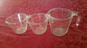 Pyrex measuring cups for Sale in Santa Ana, CA