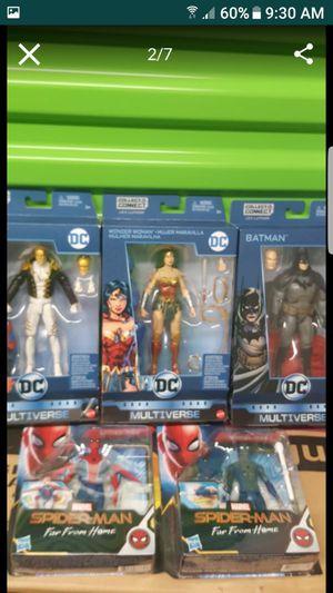 Mattel- DC Comics Multiverse Action Figure all for $40 for Sale in Elizabeth, NJ
