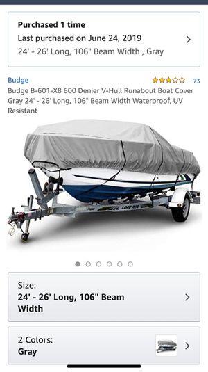 Brand new boat cover still in box for Sale in Modesto, CA